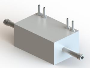 Dual Dispenser Hydrogen Pre-Cooler Heat Exchanger - H2PC™