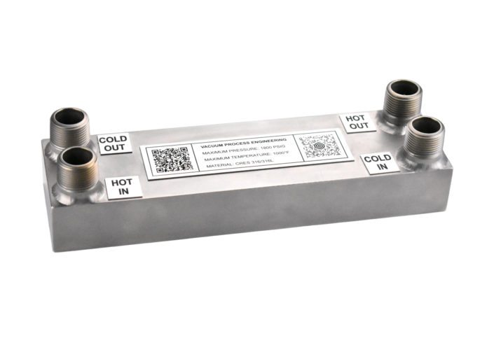 Miniature Heat Exchangers - Model B11