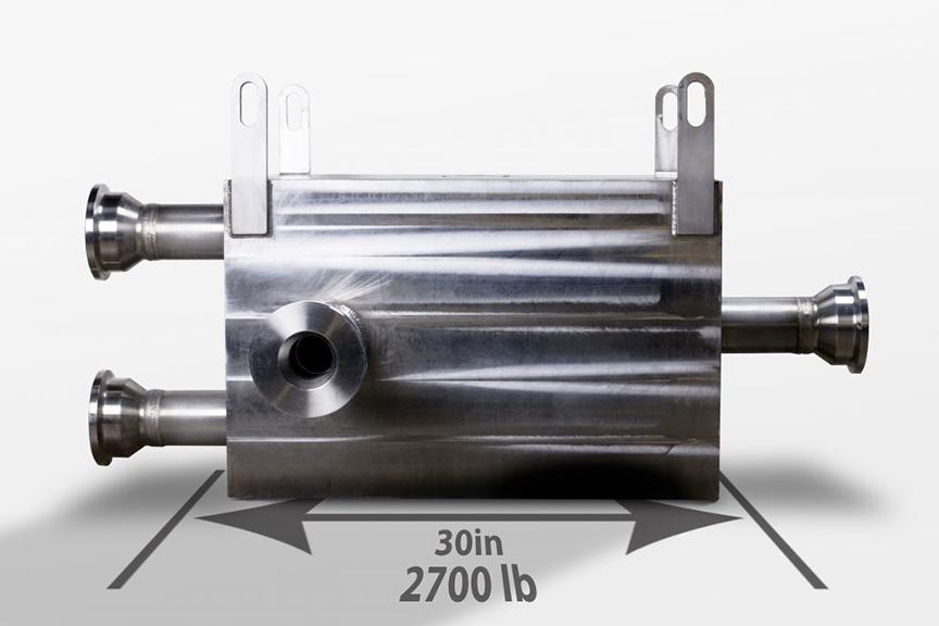 Supercritical CO2 Module - 5.7MW - Microchannel Heat Exchanger - MCHE